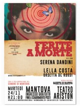 FERITE A MORTE in scena al Teatro Ariston di Mantova